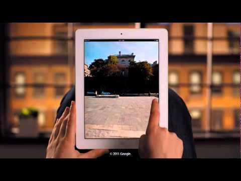 Google Maps On iPad 2