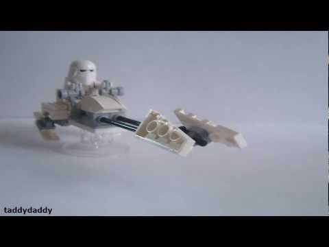 How to make a Lego Hoth Speeder Bike
