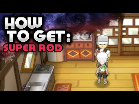 How to Get the Super Rod - Pokemon Omega Ruby and Alpha Sapphire