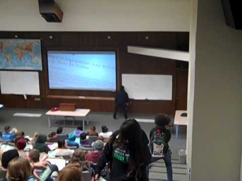 HSU Classroom interruption - CHECK IT