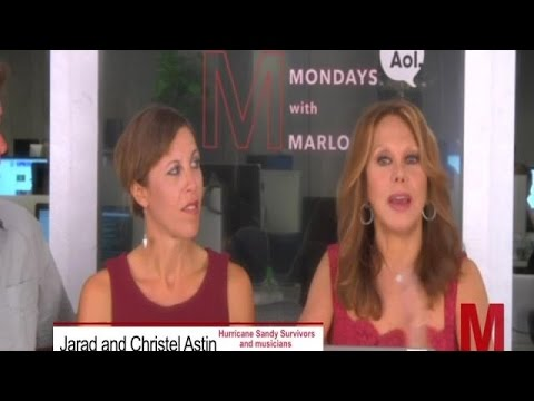 Mondays With Marlo - Hurricane Sandy Survivors Full Interview