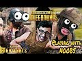 CARRYMINATI PLAYS WITH RANDOM SQUADS NOOBS FUNNY VOICE CHAT PUBG MOBILE HIGHLIGHTS