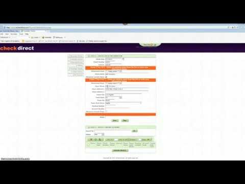 accept echecks  | electronic check processing