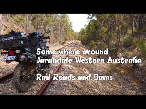 Exploring old Railways and Dams around Jarahdale Western Australia