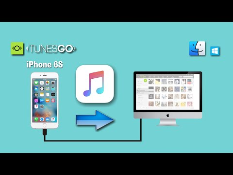 How to Transfer All Purchased or Non-purchased Songs from iPhone 6S to Mac Without iTunes