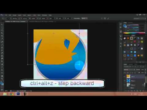 How To: Make Easy Twitter Icon - Photoshop