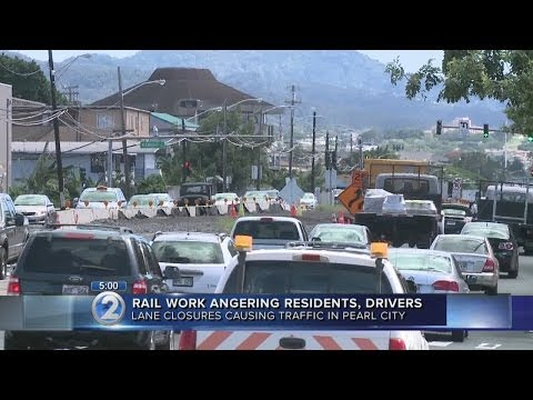 More rail transit traffic woes in store for Oahu drivers