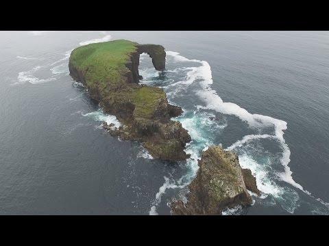 Dore Holm Island Shetland Isles