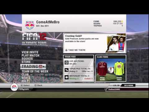 Fifa 12 Ultimate Team| TOTY Update/Channel Update!