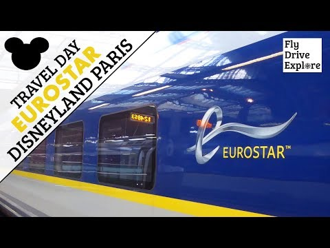 Travel Day - Eurostar London To Disneyland Paris