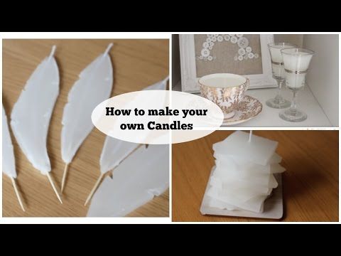 DIY| - How to make your own candles