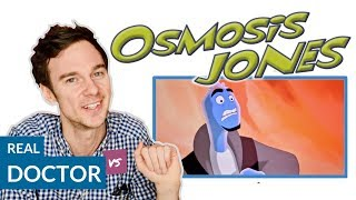 Real Doctor reacts to OSMOSIS JONES | Hospital Movie Scenes Review