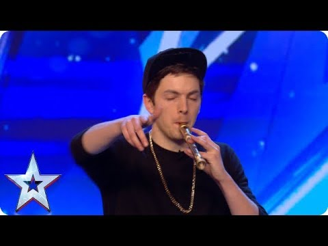 Recorda Boi puts a whole NEW SPIN on playing the recorder! | Auditions | BGMT 2018