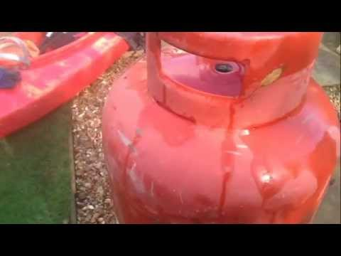 Making a Wood Burner from a Gas Cylinder - Part 1