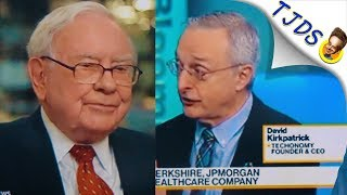 Amazon Creating HealthCare Company With Warren Buffet & JPMorgan