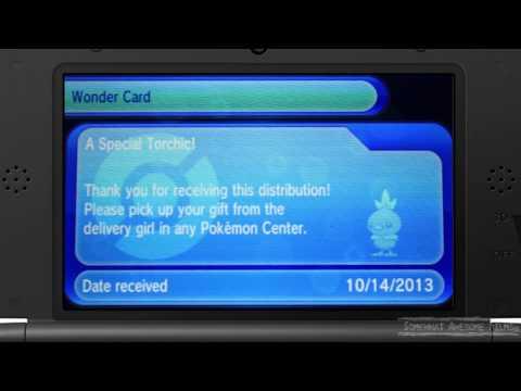 Pokemon X Y Get a Free Torchic
