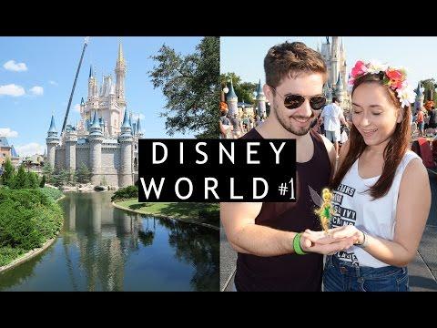 WALT DISNEY WORLD #1 Travel Day, Disney Springs & Magic Kingdom // Charlotte Brads
