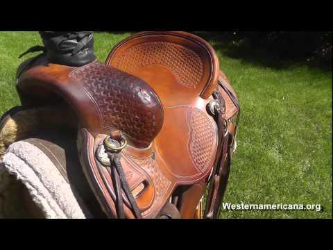 Chas Weldon Saddle