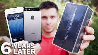 iPhone 5 Unboxing! 6 Years Old Today