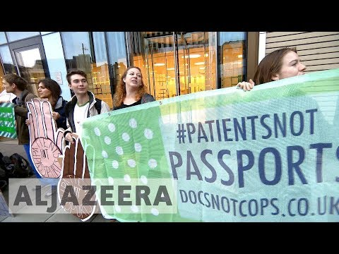UK 🇬🇧 makes checking hospital patients' immigration status mandatory