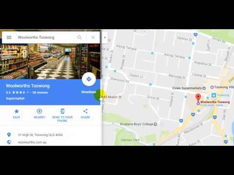 How to save a place or location in Google Maps