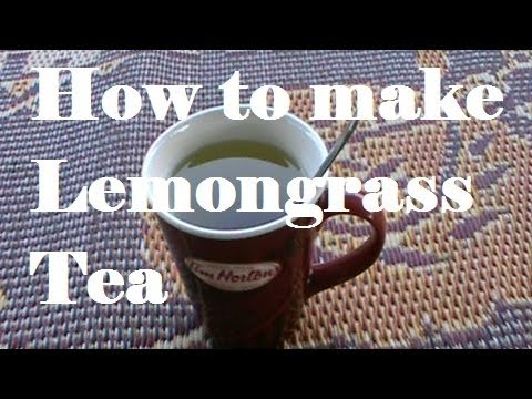 Lemon Grass tea with Galangal and Turmeric, All organic from my garden