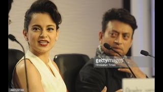 Irfan Khan and Kangna Ranaut answering every question