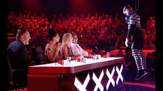 Creepy TNG Scare The Light Out Of The Judges  | Semi Final 5 | Britain