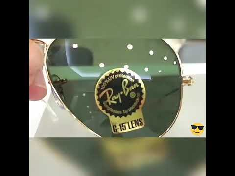 How to know original ray ban aviator glasses