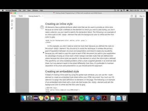 Intro to CSS