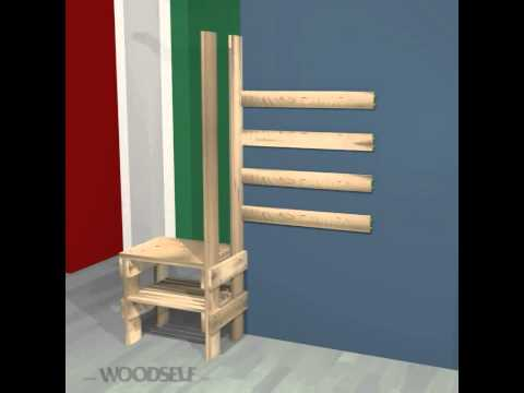Woodself: How to build a shoe rack