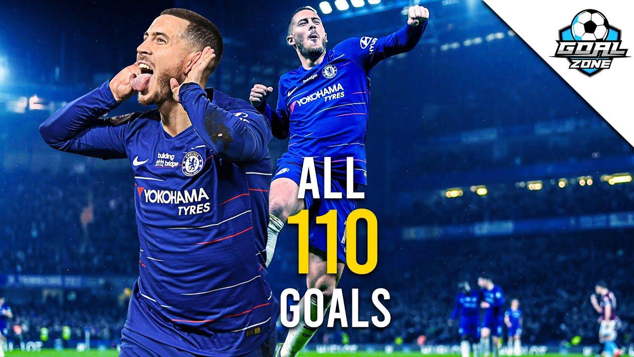 Eden Hazard - All 110 Goals for Chelsea