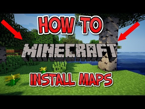HOW TO INSTALL MINECRAFT MAPS for PC/JAVA 1.12