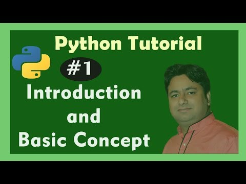 Python Tutorial -1 : Introduction of Python Language - Features of Python and Basic Syntax of Python