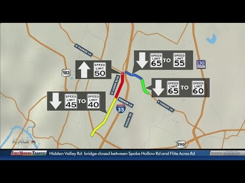 Speed limits could be changing on 2 of Austin's most traveled roads
