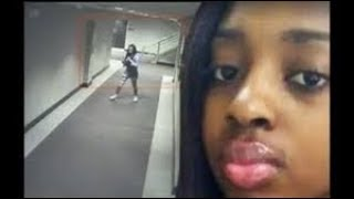 JUST IN: New Surveillance video shows #KennekaJenkins before she was found dead in a Rosemont hotel
