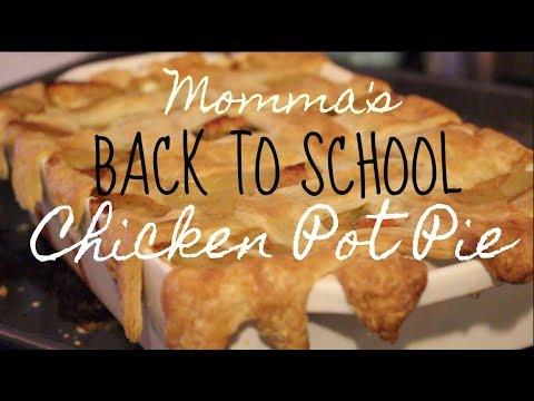 FAVORITE BACK TO SCHOOL DINNER - QUICK & EASY CHICKEN POT PIE ! | HALOEATS