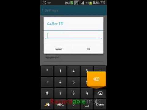 How to change voxox caller id