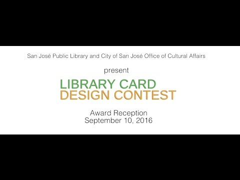 Library Card Design Contest Award Reception