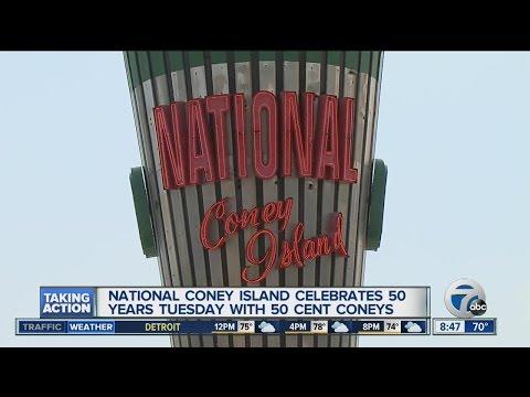 National Coney Island Celebrates 50 years