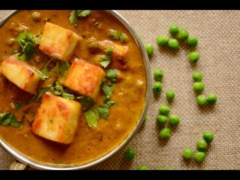Easy Matar Paneer Recipe In Hindi | How To Make Matar Paneer | Matar Paneer Ki Sabzi