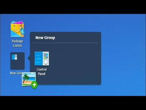 How to Create, Rearrange, Organize, and Remove Shortcuts on Your Synology NAS Desktop