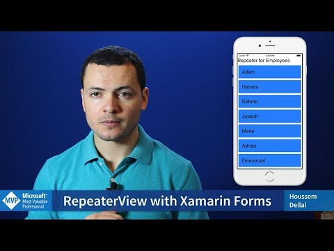 RepeaterView for Xamarin Forms