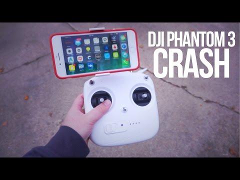 DRONE CRASH! - DJI Phantom 3 Standard Footage & Review - AgencyLife