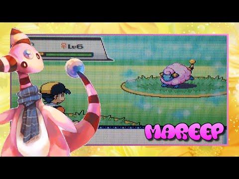 [WSHC #6] [Live!] Shiny Mareep Pokemon Soul Silver (US) Only 1216 RE's! :O