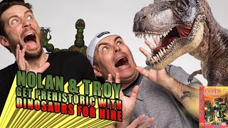 Nolan North And Troy Baker Get Prehistoric With Dinosaurs For Hire