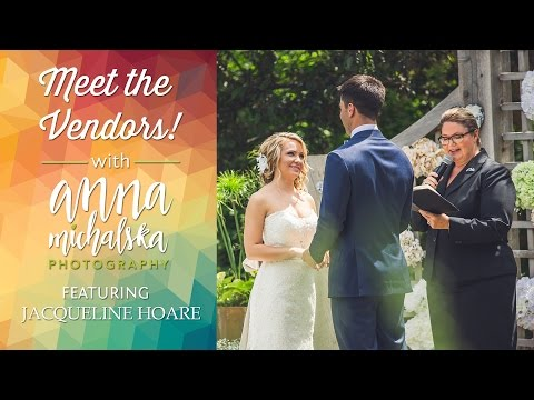 Jacqueline Hoare - Calgary Marriage Commissioner | Meet the Vendors