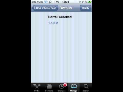 How to Get Barrel from Cydia for Free
