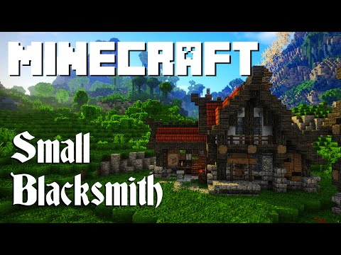 Minecraft Tutorial: Small Blacksmith (Graywatch)