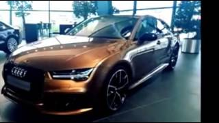 2016 Audi RS7 Model Car Inside and Outside Design
